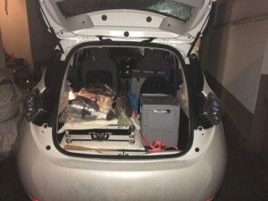 Kofferraum Zoe