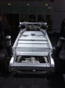 Fahrwerk des Model S