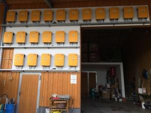 Beeindruckende Anlage - Bis zu 450 kW/h produziert der Lohwiesenhof ökologisch.