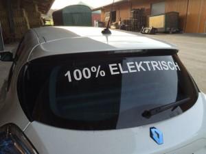 100% Elektrisch ging es 150 Kilometer von Groß-Gerau nach Pforzheim